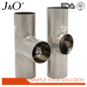 Sanitary Stainless Steel Tube Fitting Pipe Fittings Clamp Tee pictures & photos