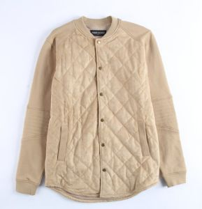 Fashion Men Outdoor Bonded Suede Jacket pictures & photos