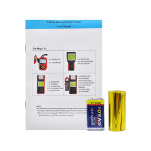 12V Auto Battery Load Tester with Printer Micro-568/ Soc Soh CCA IR Multi-Language Micro 568 pictures & photos