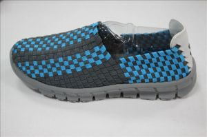 New Arriving Men′s Casual Woven Shoes pictures & photos