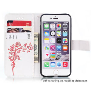 Embossed PU Leather Wallet Cell Phone Case for iPhone8/8plus7/7plus/6s/6splus pictures & photos