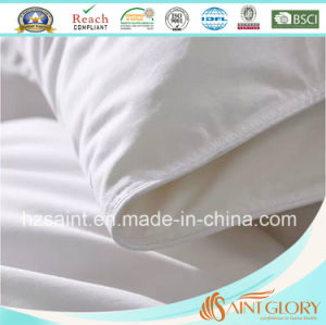 100 Cotton Fabric Down Duvet White Goose Feather and Down Comforter pictures & photos