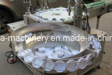 Cosmetic/Ointment/Cream/Adhesive/Glue Metallic Jar Filling Capping Machines pictures & photos