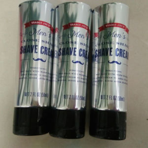 Shiny Silver Aluminum Laminated packaging for Shave Cream pictures & photos