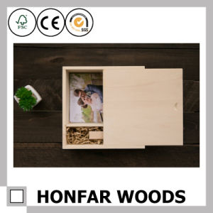 Finger-Joint Wooden Packing Box for Souvenir Gift Box pictures & photos