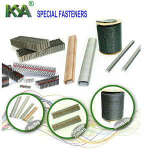 Two Corrugated Fasteners as Joiner for Furnituring pictures & photos