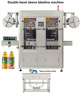 Square Bottle Round Bottle Automatic Shrink Sleeve Labeling Machine pictures & photos
