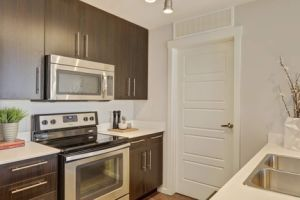 Private Custom Made Wood Kitchen Cabinet with Island pictures & photos