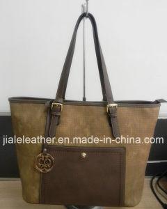 Women′s PU Leather Handbag WT0031-2