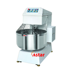 130L 50kg Double Motor Double Speed Spiral Mixer Food Processor Kitchen Ware pictures & photos