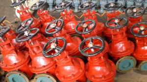 Wholesale Cast Steel Marine Solid Wedge Gate Valves pictures & photos