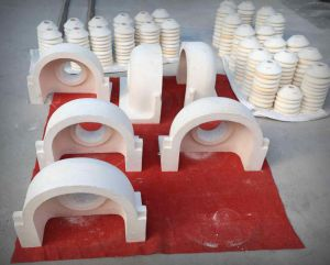 Refractory Spout, Orifice Ring, Tube and Plungers for Glass Furnace Gob Feeder Machines