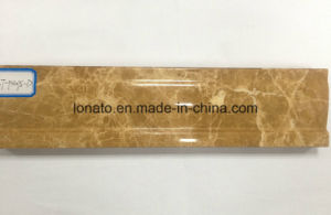 Popular Design Hot Stamping Foil PVC Cornice with High Quality pictures & photos
