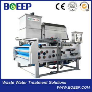 Stainless Steel 304 Belt Filter Press Waste Water Treatment pictures & photos