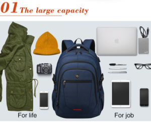 Students Bag Girl Bag Notebook Backpack Men Women Waterproof Laptop Backpack College pictures & photos