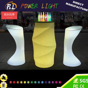 Decorative Lighting Vase Plastic LED Flower Vase pictures & photos