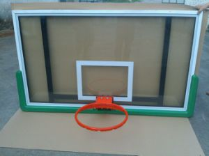 All Aluminum Frame Tempered Glass Basketball Backboard pictures & photos