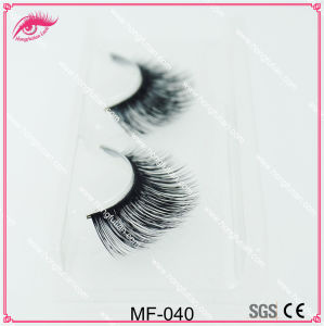 Natural Mink Eyelashes Private Label Hand Eyelash Strip Lashes Wholesale pictures & photos