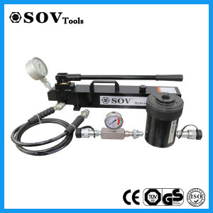 Small Hollow Plunger Hydraulic Cylinder with Pull and Push Force pictures & photos