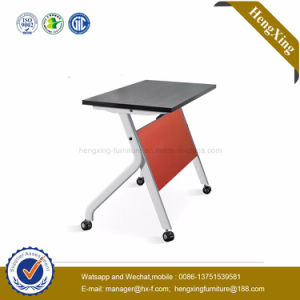 High Quality Cheap New Style School Desk and Chair Wholesale Folding Table (HX-5D150) pictures & photos
