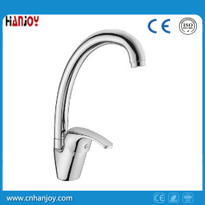 Hot Sale Deck Mounted Single Handle Sink Kitchen Faucet (H11-103S) pictures & photos