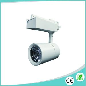 Aluminum Housing 25W LED Track Lighting Spotlight with Ce/RoHS pictures & photos