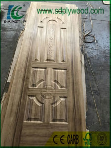 Burma Teak Veneer HDF Moulded Door Skin Thickness 2.7mm/3mm/4mm pictures & photos