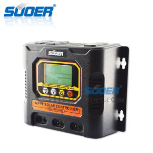 Suoer New Product 20A Solar Charge Controller MPPT (SON-MPPT-20A) pictures & photos