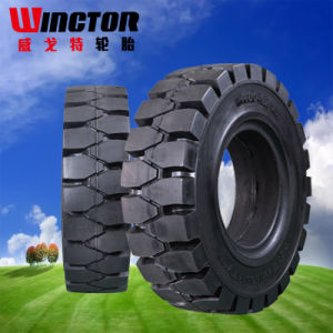 China 28X9-15 Solid Forklift Tire, Supply Wheels for Forklift Tires for Exporting pictures & photos