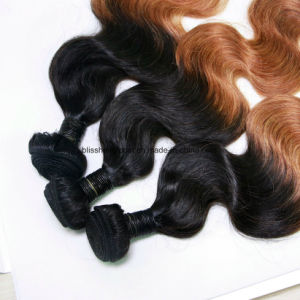 Brazilian Virgin Hair Body Wave Brown Color Three Pieces in One Pakc pictures & photos