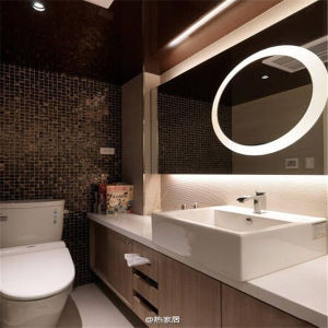 Wall Mounted Us Bathroom LED Light Mirror for Hotel pictures & photos