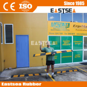 Australia Reflective Parking Block Rubber Wheel Stopper Stop (DH-PB-6) pictures & photos