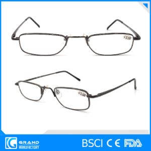 Wholesale Protect Eyesight Clear Lens Slim Metal Reading Glasses pictures & photos