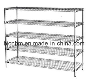 Carbon Steel Chrome Wire Display Rack pictures & photos