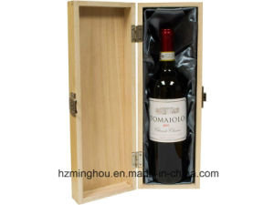 Modern Single Double Wooden Wine Box Gift Box with Accessories pictures & photos