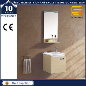 Hot Selling Melamine Wall Mounted Bathroom Cabinet Vanity pictures & photos