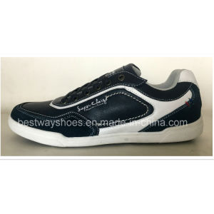 Casual Shoes with PU Leather Upper Sports Shoes Men Shoe pictures & photos