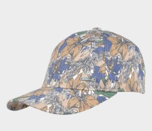 Water Printed Floral Cap pictures & photos