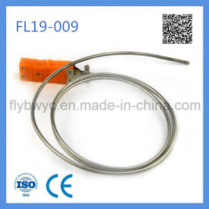 E Type Sheathed Thermocouple Temperature Sensor 0-400c with Bend Probe pictures & photos
