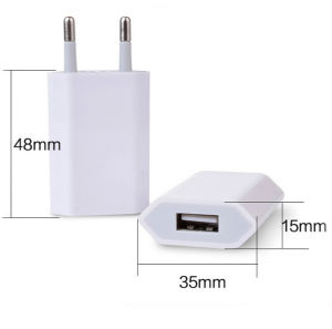 USB Wall Charger Adapter Universal Travel Power Adapter pictures & photos