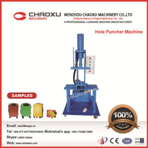 Hole Punching Machine for Luggage (YX-22M) pictures & photos