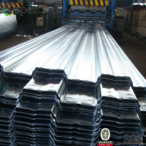 New Building Pressed Galvanized Profiled Floor Decking Steel Plates pictures & photos