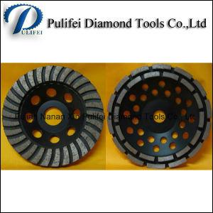 Concrete Floor Cutting Cup Disc 4′′ Diamond Segment Grinding Wheel pictures & photos