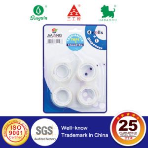 European Style Clear Stationery Tape in Blister Card pictures & photos
