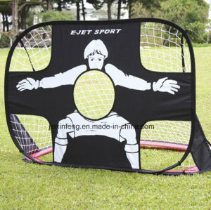 Advertisement Tent Custom Made Portable 2 in 1 Soccer Training Goal