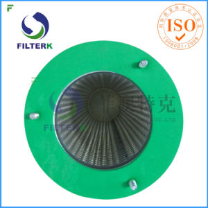 Filterk Pleated Polyester Dust Eliminator Filter with 3 Bolt pictures & photos