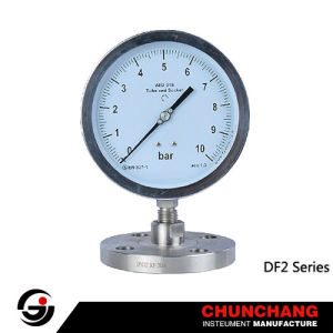 Differential Pressure Gauge With Diaphragm Element - 2 pictures & photos