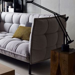 Hot Selling Hotel Living Room Furniture Fabric Sofa (F1110#-4) pictures & photos