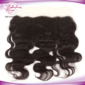 High Quality Virgin Human Hair Wholesale Brazilian Frontal Lace Closure pictures & photos