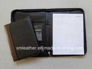 A4 Zip Faux Leather Presentation Portfolio File Folder pictures & photos